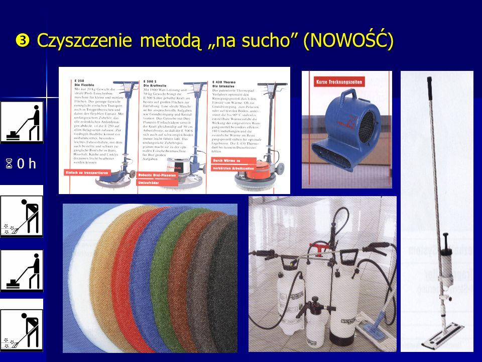 0 h Czyszczenie metodą na sucho (NOWOŚĆ) Czyszczenie metodą na sucho (NOWOŚĆ)