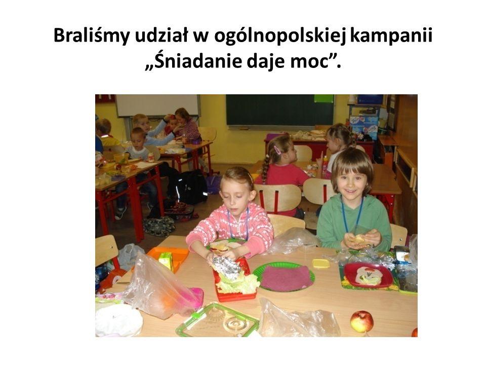 Braliśmy udział w ogólnopolskiej kampanii Śniadanie daje moc.