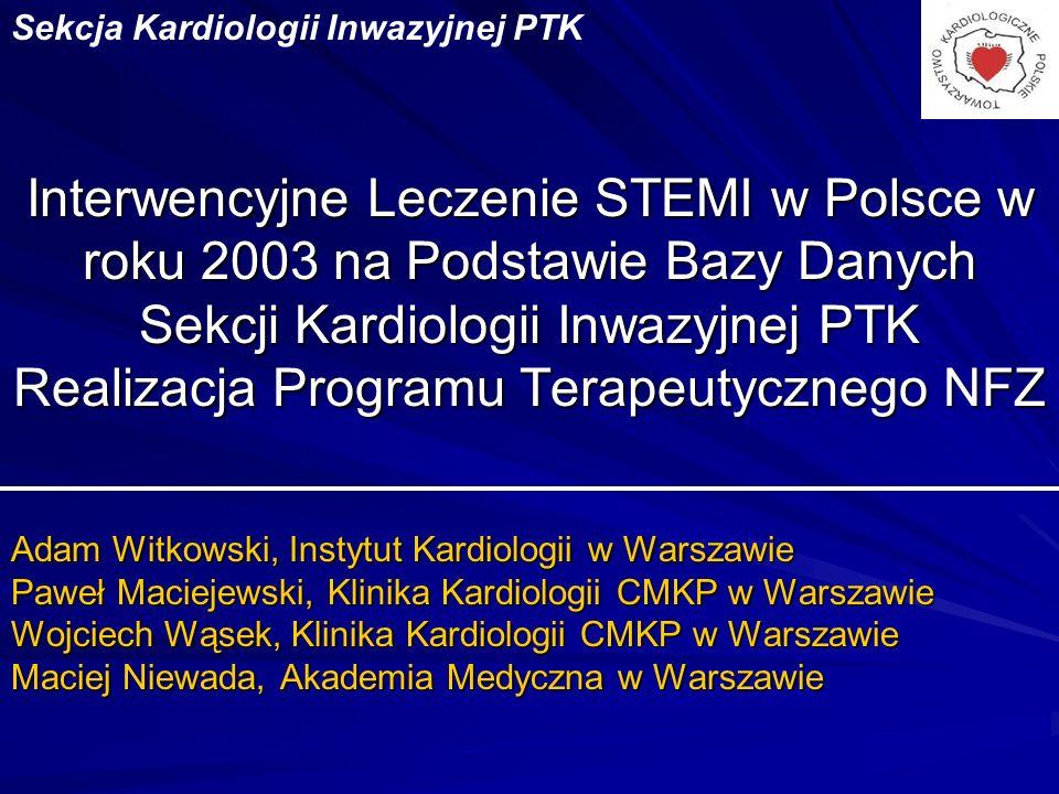 Sekcja Kardiologii Inwazyjnej PTK