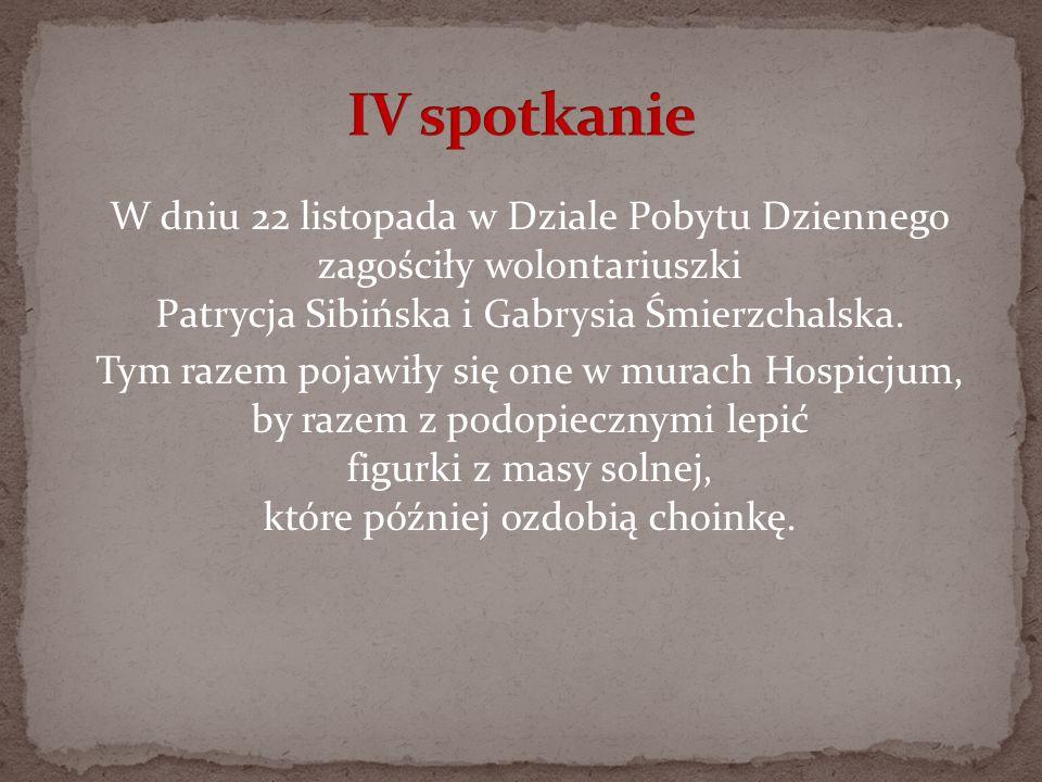 W dniu 22 listopada w Dziale Pobytu Dziennego zagościły wolontariuszki Patrycja Sibińska i Gabrysia Śmierzchalska. Tym razem pojawiły się one w murach