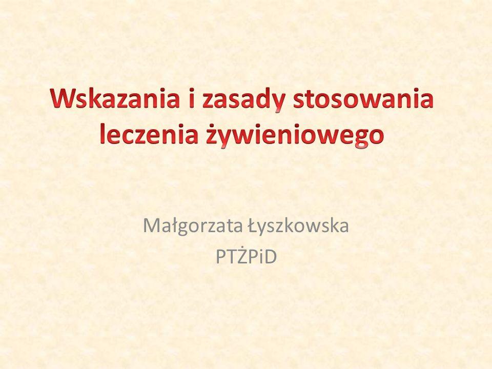 Małgorzata Łyszkowska PTŻPiD