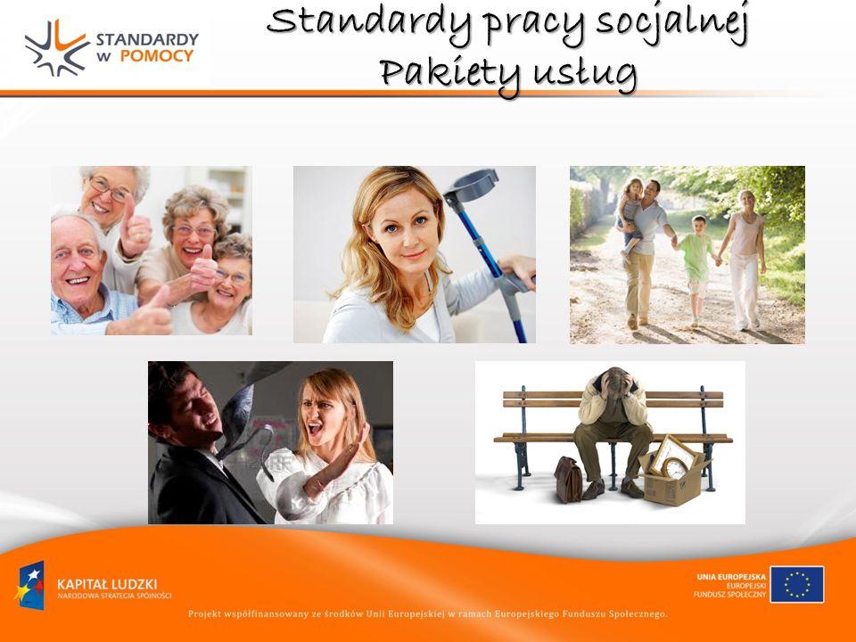 Standardy pracy socjalnej pracę socjalną metodami indywidualnego przypadku i grupową PRAKTYCZNE WSKAZÓWKI dla pracownika socjalnego, wskazujące jak prowadzić pracę socjalną metodami indywidualnego przypadku i grupową etapie postępowania metodycznegoW jaki sposób powinien postępować pracownik socjalny, jaka jest rola klienta na każdym etapie postępowania metodycznego (diagnoza – plan działania – realizacja planu – ocena końcowa/ systematyczna ewaluacja) budować relacje, komunikować się, motywować i towarzyszyćJak budować relacje, komunikować się, motywować i towarzyszyć klientowi.
