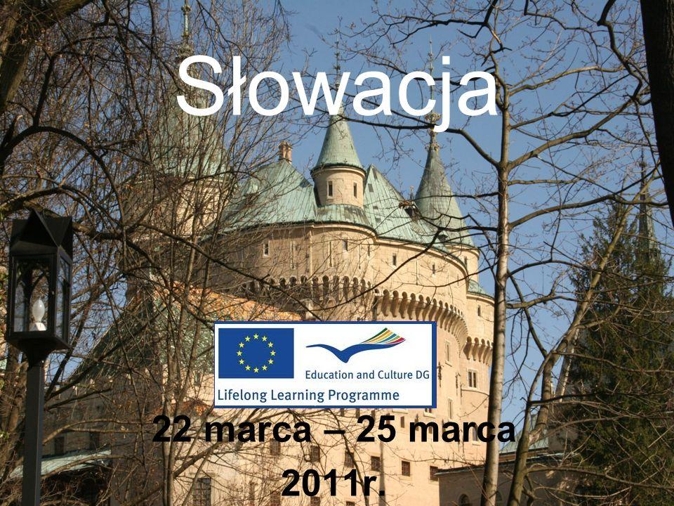 Słowacja 22 marca – 25 marca 2011r.
