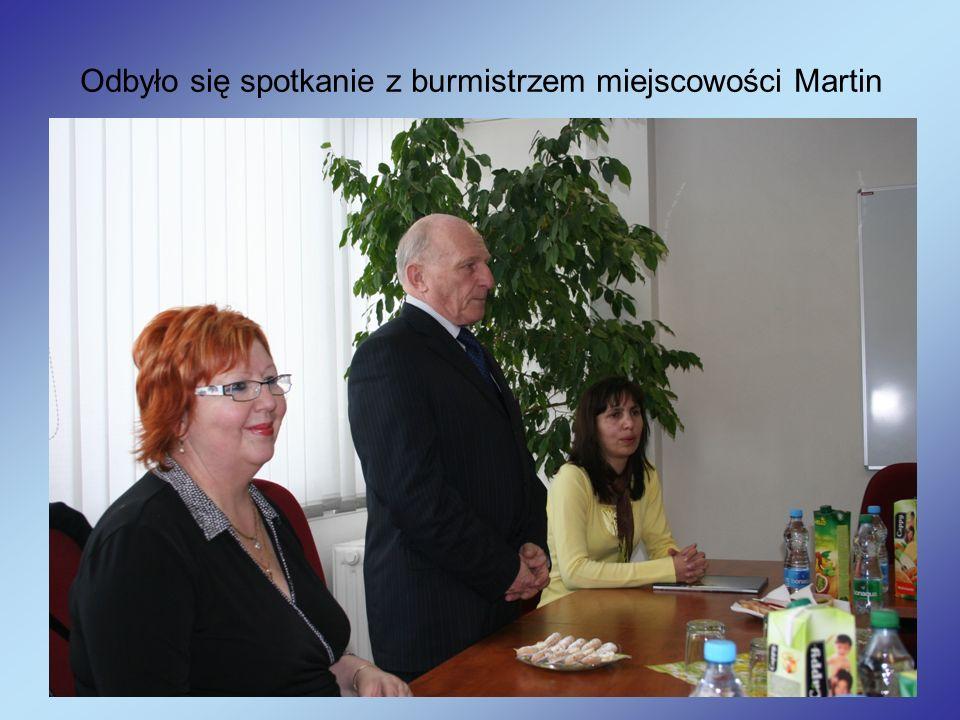 Odbyło się spotkanie z burmistrzem miejscowości Martin