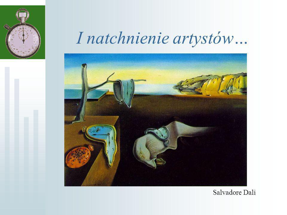 I natchnienie artystów… Salvadore Dali