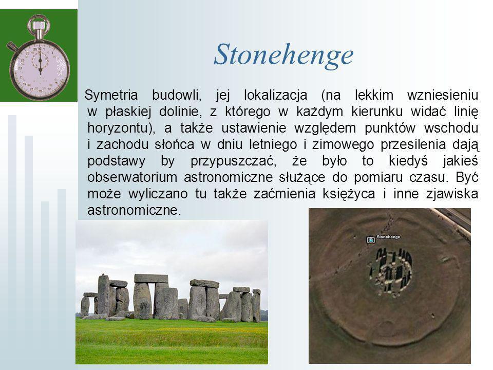 Zegary słoneczne Około 1000 p.n.e.