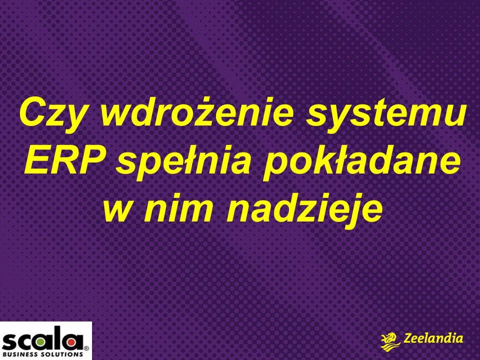 Rozpatrywaliśmy 10 systemów ERP.