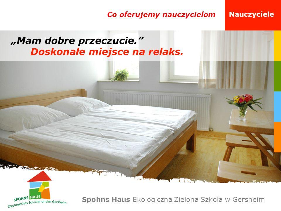 Misja Nasi partnerzy Spohns Haus Ekologiczna Zielona Szkoła w Gersheim