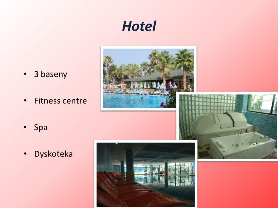 Hotel 3 baseny Fitness centre Spa Dyskoteka