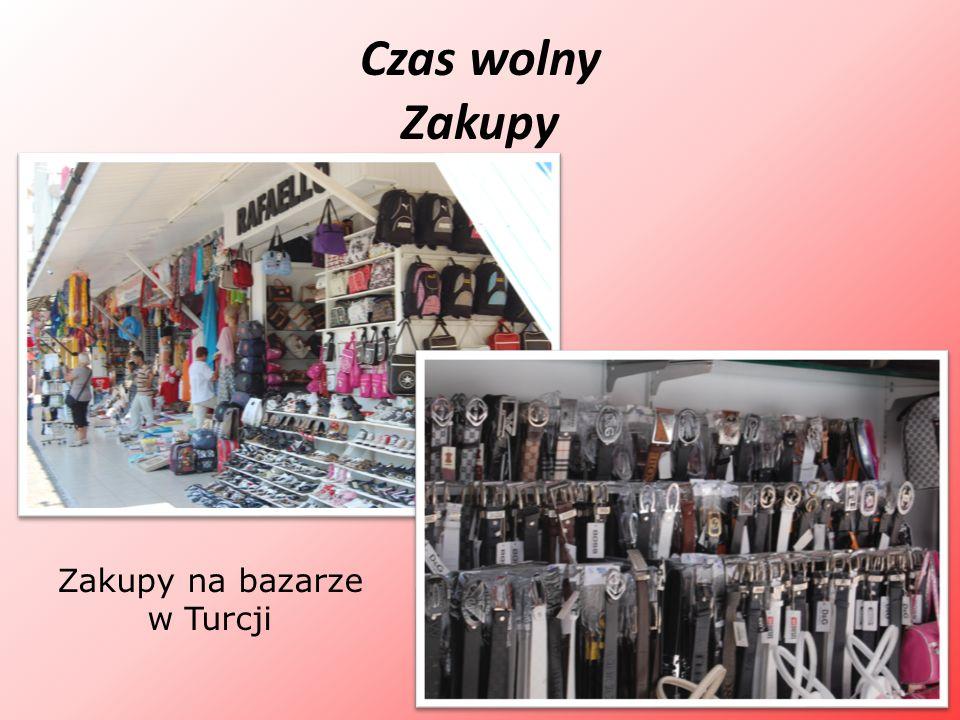 Czas wolny Zakupy Zakupy na bazarze w Turcji