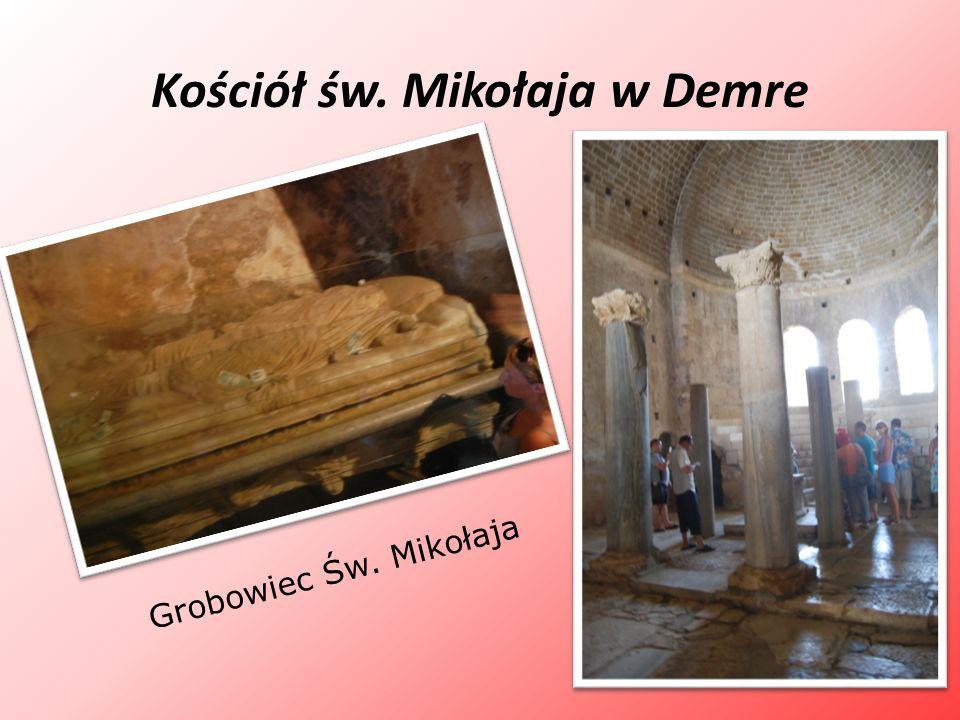 Kościół św. Mikołaja w Demre Grobowiec Św. Mikołaja