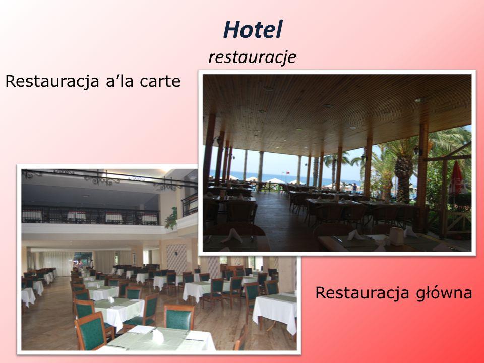 Hotel restauracje Restauracja ala carte Restauracja główna