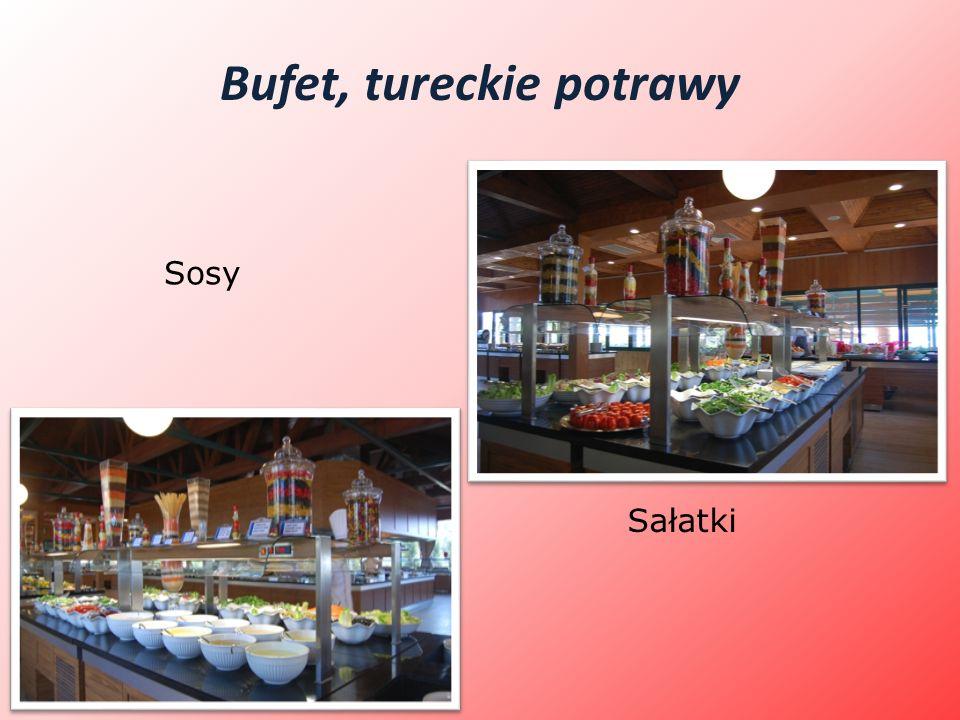 Bufet, tureckie potrawy Sosy Sałatki