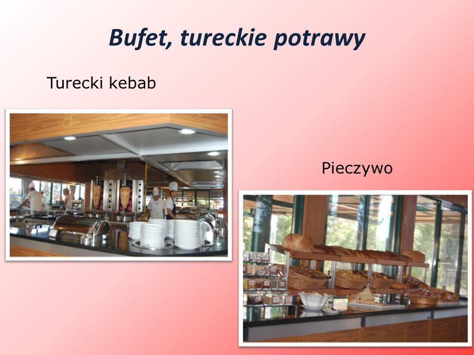 Bufet, tureckie potrawy Turecki kebab Pieczywo