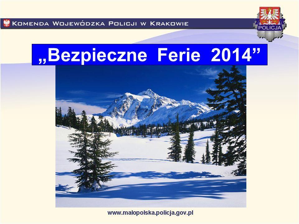 Bezpieczne Ferie 2014