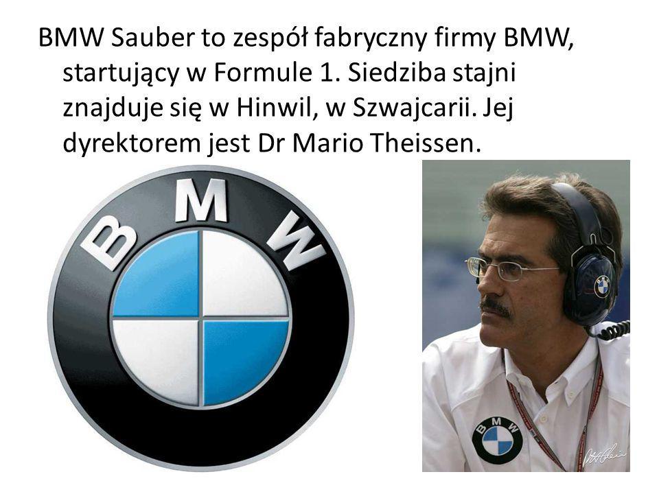 BMW Sauber to zespół fabryczny firmy BMW, startujący w Formule 1. Siedziba stajni znajduje się w Hinwil, w Szwajcarii. Jej dyrektorem jest Dr Mario Th