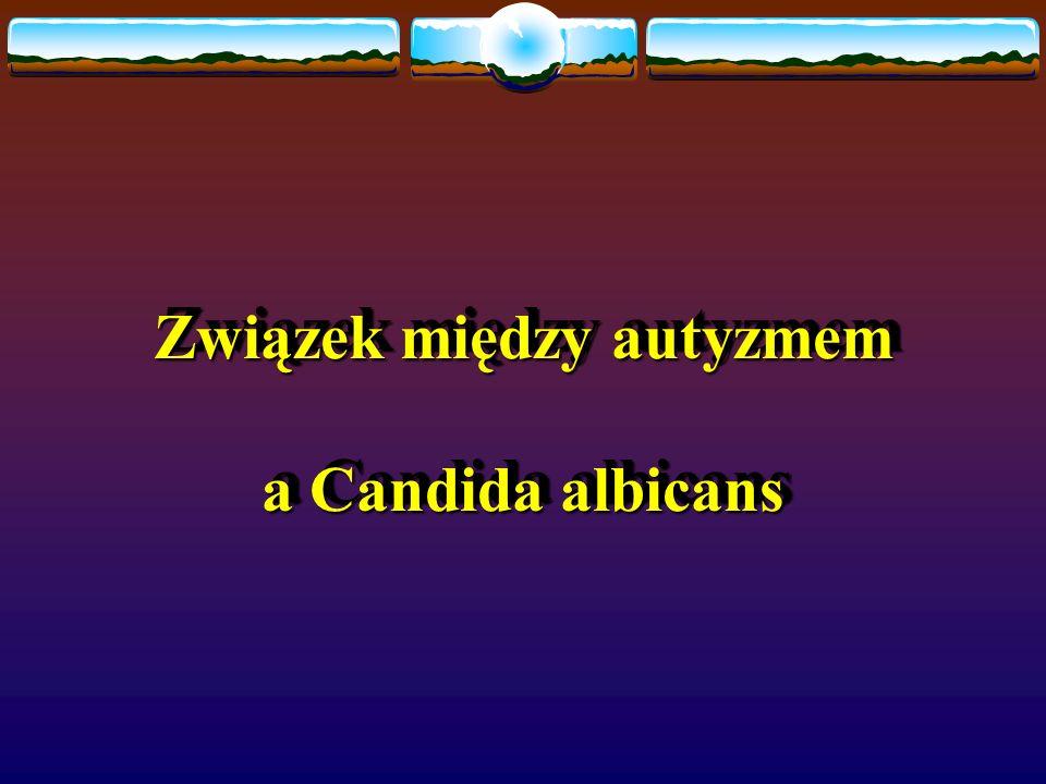 Związek między autyzmem a Candida albicans Związek między autyzmem a Candida albicans