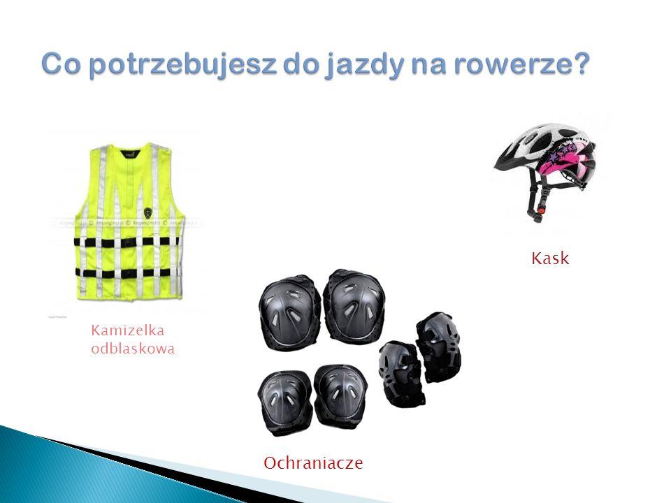 Kamizelka odblaskowa Ochraniacze Kask