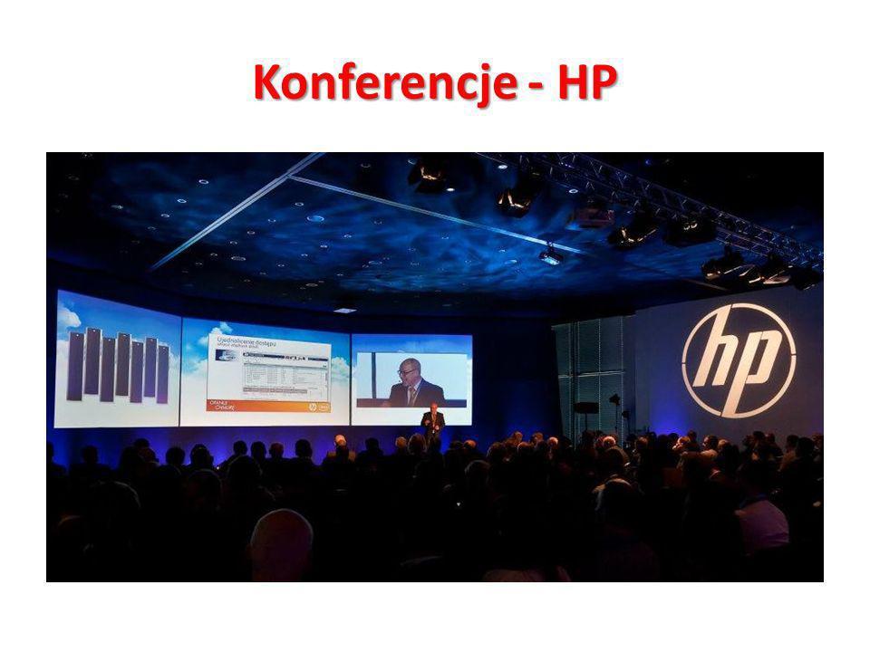 Konferencje - HP Konferencja Opanuj Chmurę – Klient: HP