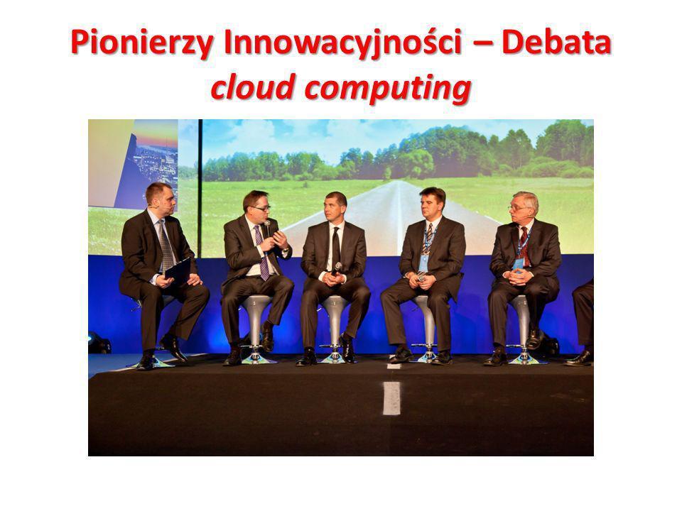 Pionierzy Innowacyjności – Debata cloud computing Jak się robi bank? Cezary Smorszczewski i Henryk Baniowski o powstaniu Alior Banku. Klient: HP