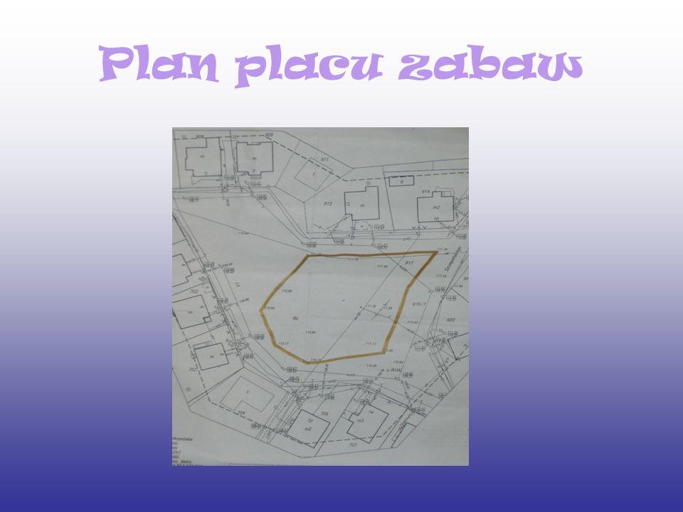 Plan placu zabaw