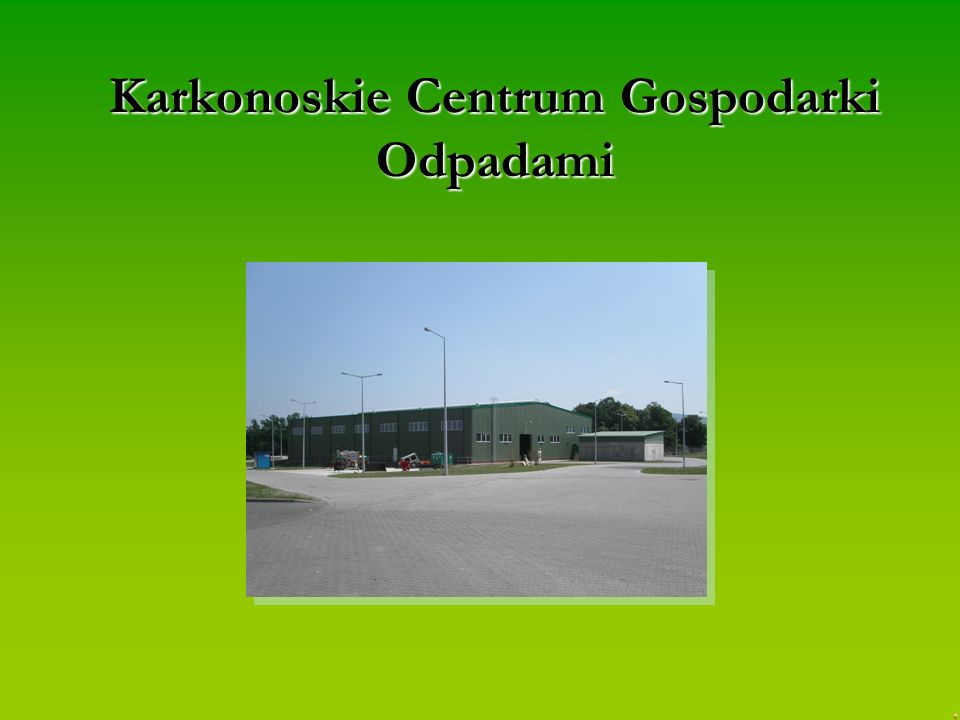 Karkonoskie Centrum Gospodarki Odpadami