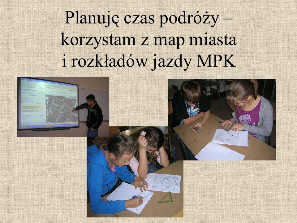 Bezpiecznie podróżuję po mieście – korzystam z komunikacji miejskiej, wycieczka do MPK Olsztyn