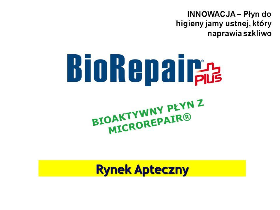 Płyn do higieny jamy ustnej BioRepair® – bioaktywny płyn naprawiający szkliwo Ciekawostka: Nie każdy zdaje sobie sprawę z tego, że nasze zęby są stale narażone na niekorzystne działanie czynników mechanicznych (szczoteczki do zębów) i chemicznych (zwłaszcza kwasy zawarte w żywności i napojach).