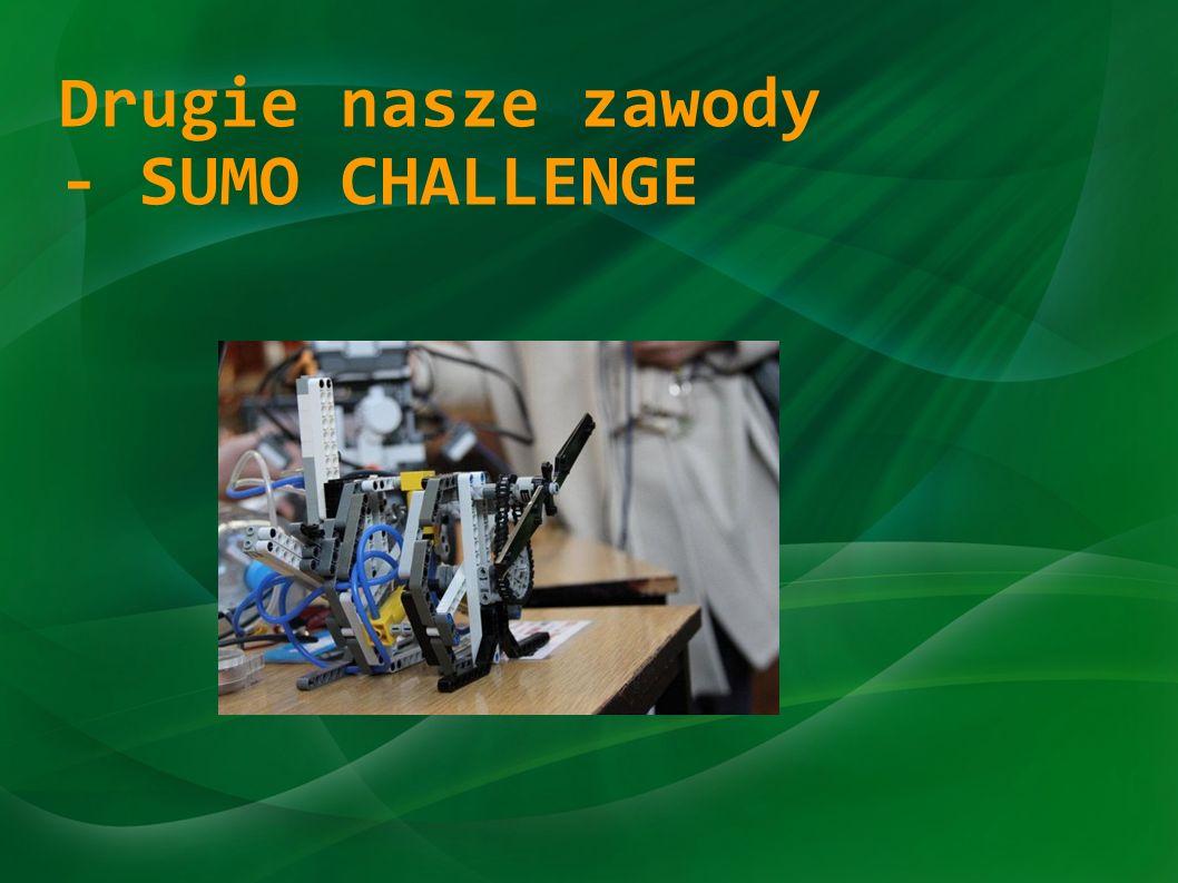 Drugie nasze zawody - SUMO CHALLENGE