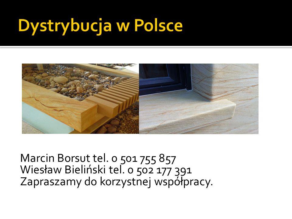 Marcin Borsut tel. 0 501 755 857 Wiesław Bieliński tel. 0 502 177 391 Zapraszamy do korzystnej współpracy.