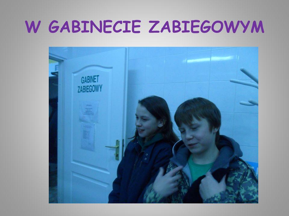 W GABINECIE ZABIEGOWYM