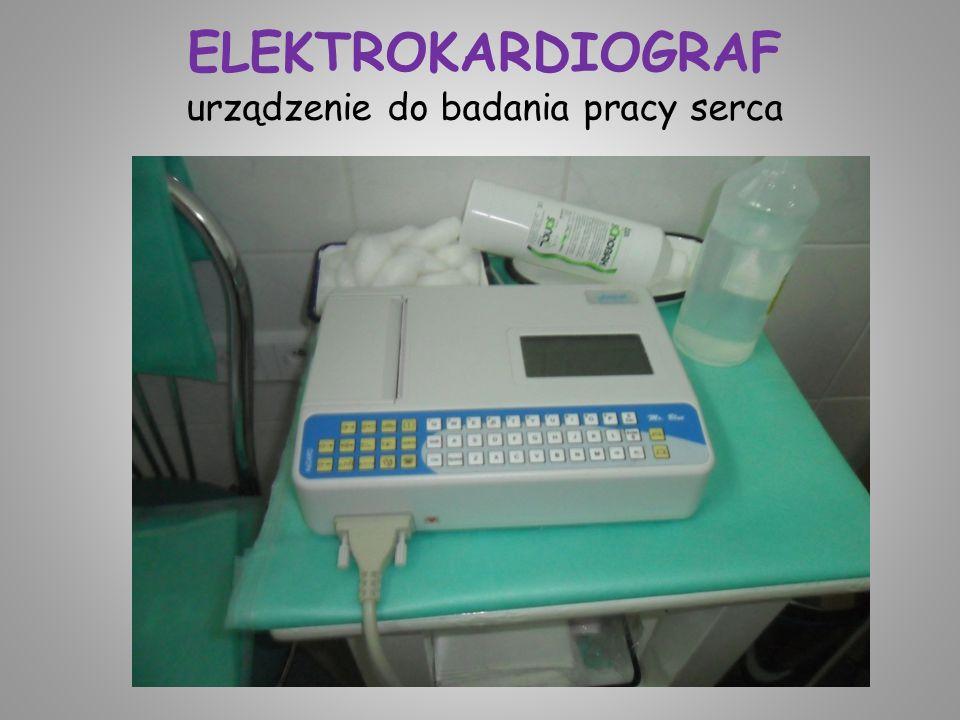 ELEKTROKARDIOGRAF urządzenie do badania pracy serca