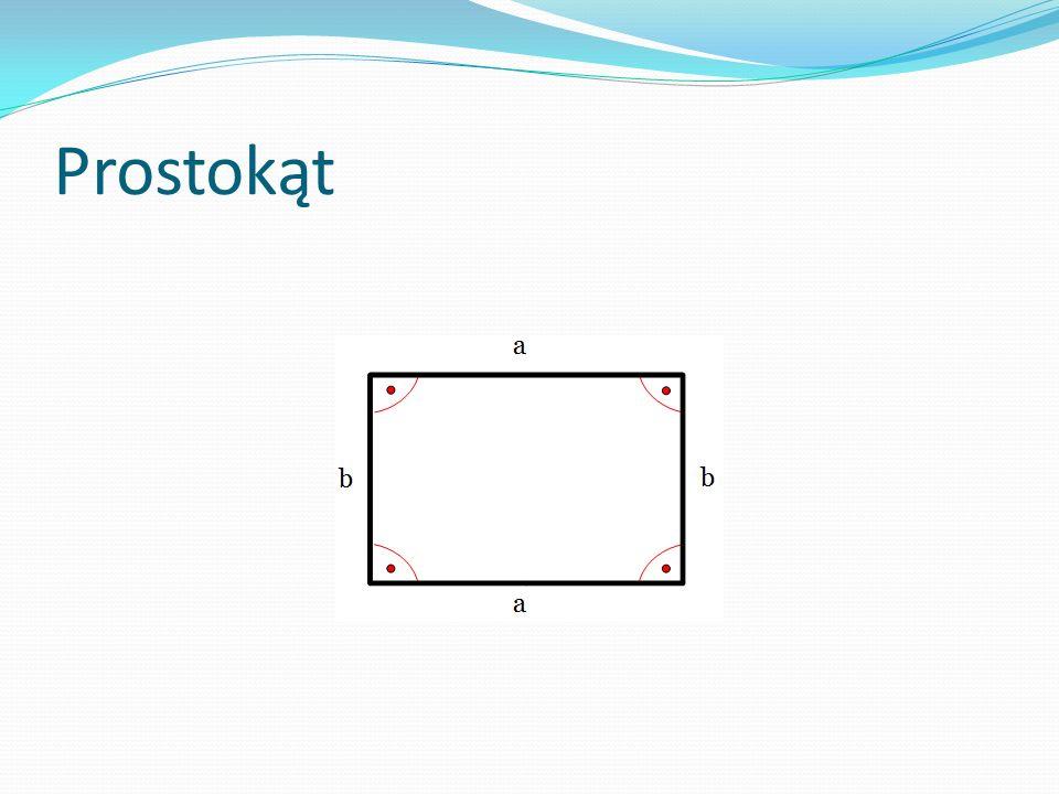 Kwadrat - to wielokąt foremny o czterech równych bokach. Pole = a * a = a 2 Obwód = 4 * a