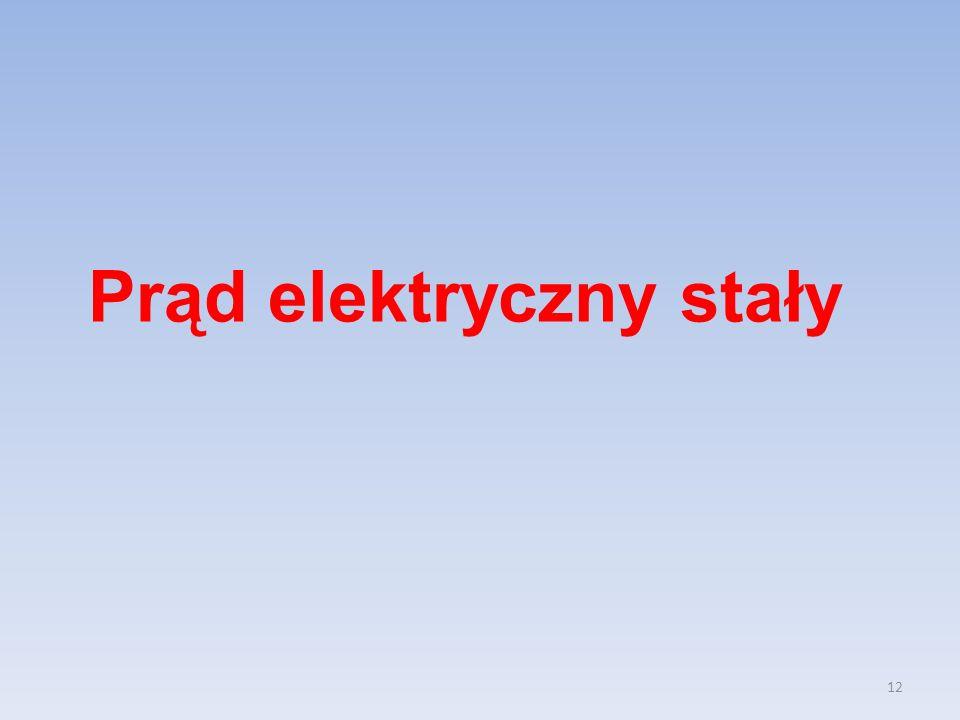 12 Prąd elektryczny stały