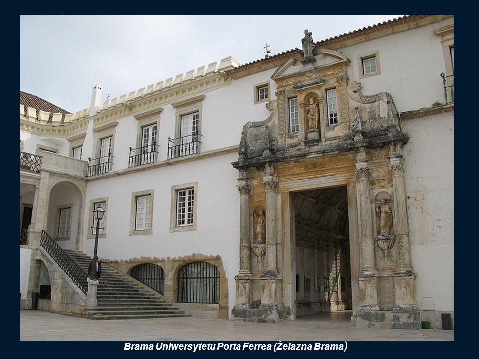 TORRE de CABRA (Kozia Wieża) Jest symbolem Uniwersytetu. Koza to dzwon o dziwacznym dźwięku, podobnym do beczenia tego zwierzęcia. Dzwon ten zwoływał