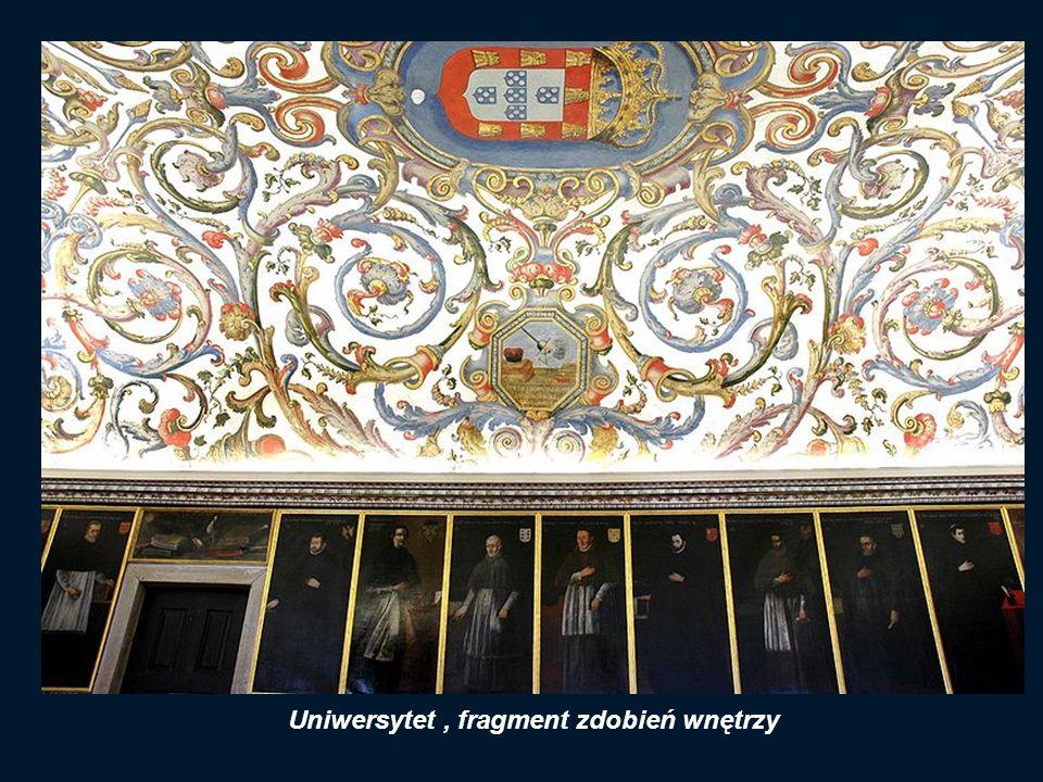 Brama Uniwersytetu Porta Ferrea (Żelazna Brama )