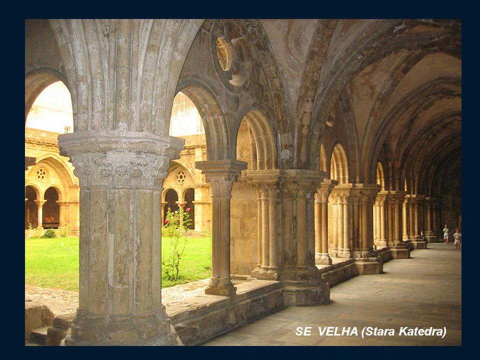 SE VELHA (Stara Katedra) Budynek Katedry z flankami na szczycie bardziej przypomina fortecę niż świątynię. Katedra jest uznawana za jedną z najpięknie