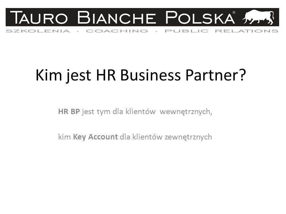 Kim jest HR Business Partner.