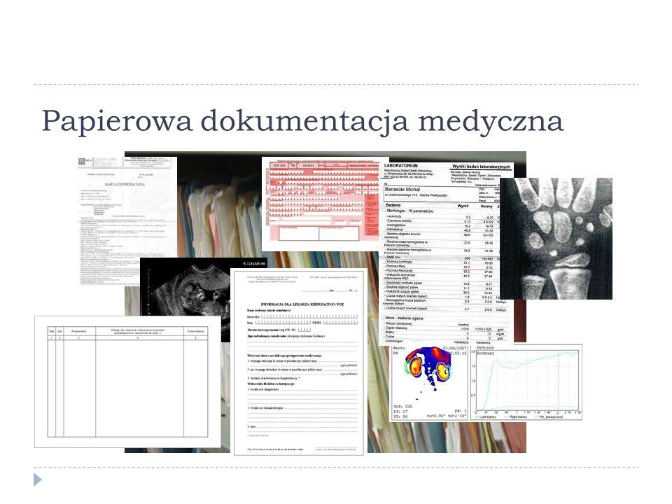 Papierowa dokumentacja medyczna
