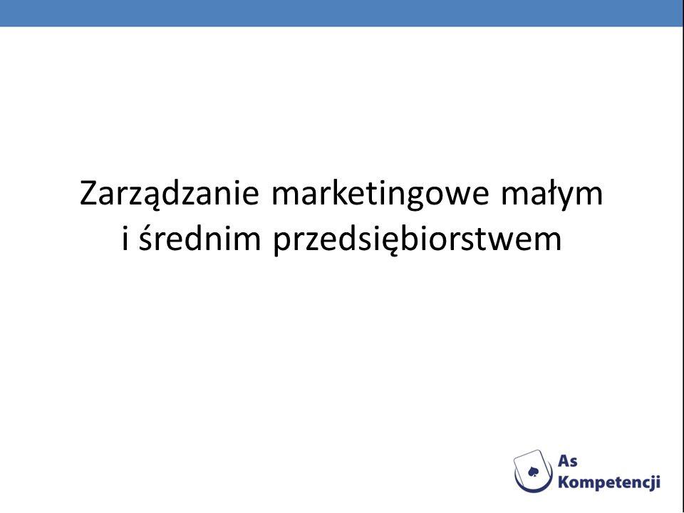 1.Podstawowe pojęciaPodstawowe pojęcia 2.Charakterystyka małych i średnich przedsiębiorstwCharakterystyka małych i średnich przedsiębiorstw 3.Segmentacja rynkuSegmentacja rynku 4.Badania marketingoweBadania marketingowe 5.Polityka produktowaPolityka produktowa 6.Polityka cenowaPolityka cenowa 7.DystrybucjaDystrybucja 8.PromocjaPromocja