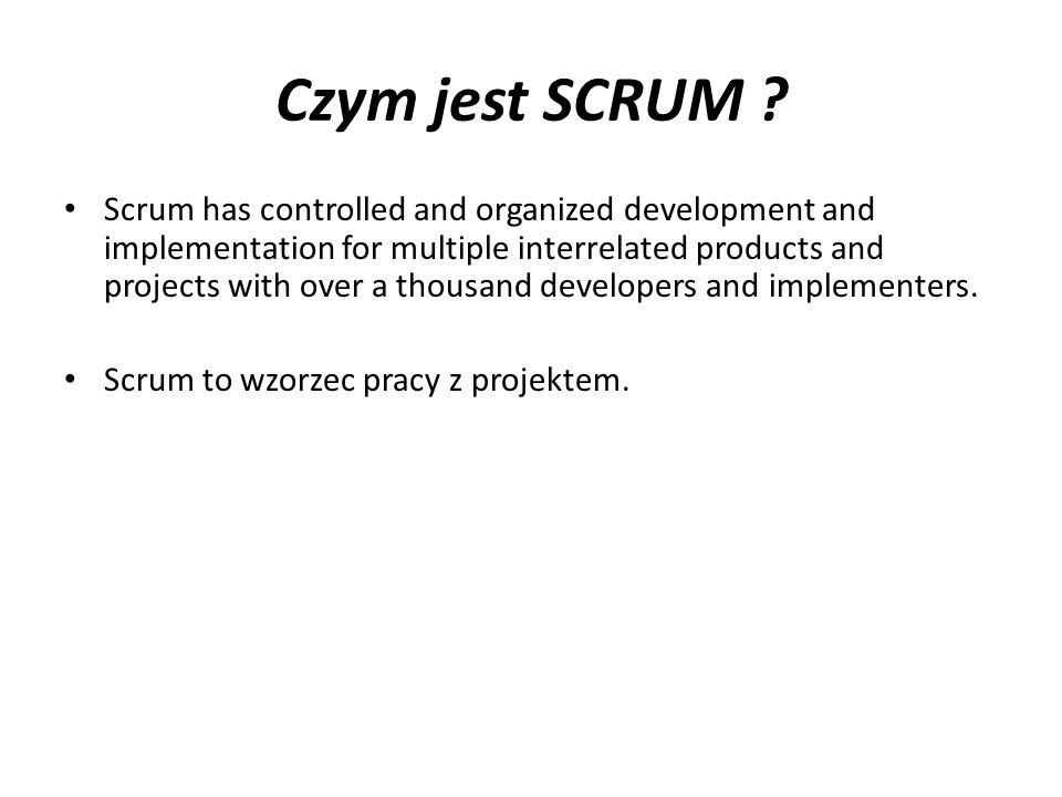 Jak działa Scrum.