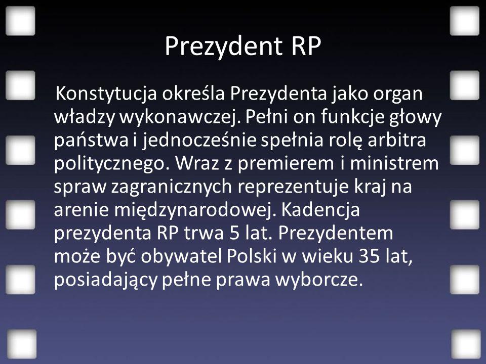 Uprawnienia prezydenta możemy podzielić na: -Uprawnienia prezydenta jako głowy państwa -Uprawnienia w stosunkach z parlamentem -Uprawnienia wobec Rady Ministrów -Uprawnienia wobec władzy sądowniczej i prokuratury -W zakresie stosunków zagranicznych - Uprawnienia w zakresie bezpieczeństwa i obronności