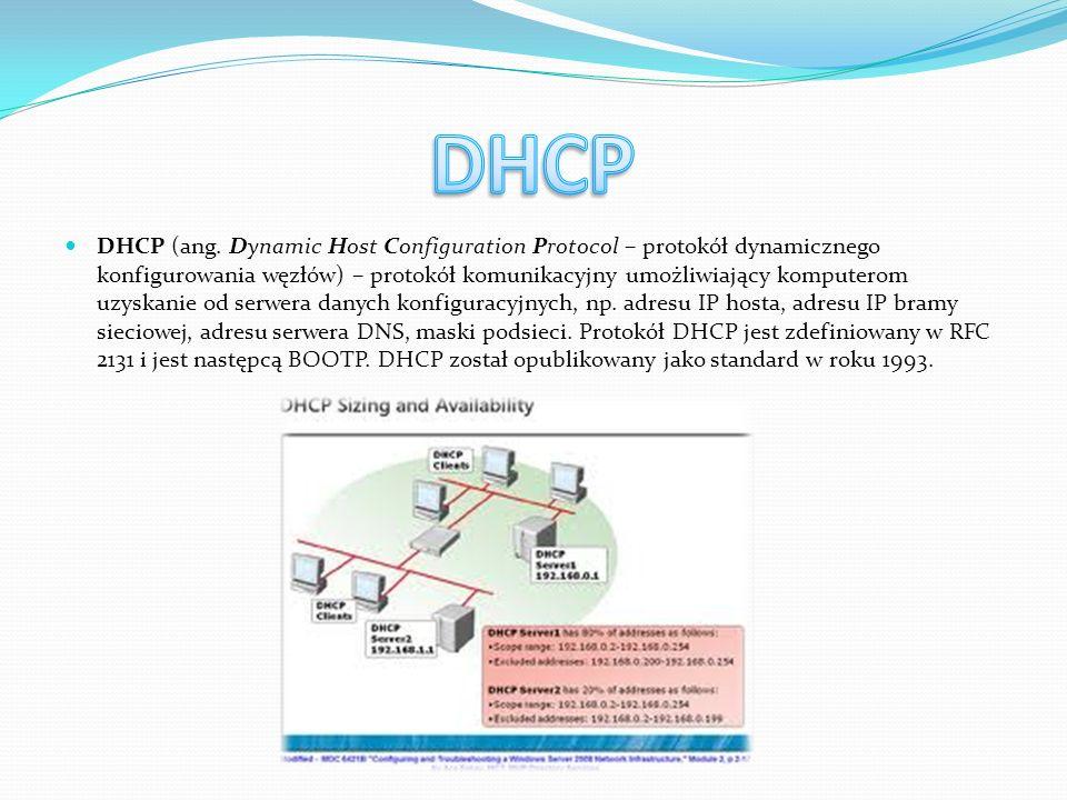 Domain Name System (DNS, ang.