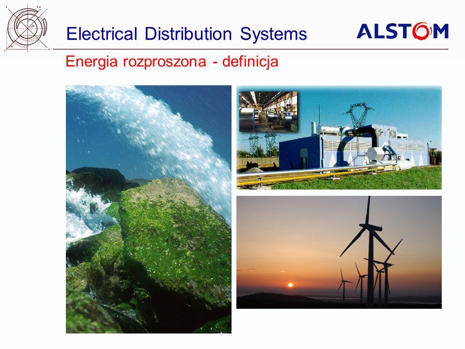 Electrical Distribution Systems Dzisiaj Produkcja Energii Przemysł Handel Sieć przesyłowa Sieć rozdzielcza Jutro : Rozproszona Produkcja Energii ze Zintegrowanym Zarządzaniem Siecią Magazynowanie Fotoogniwa Farma wiatrowa Produkcja własna Kontrola Jakości Magazynowanie Produkcja skojarzona Magazynowanie Kontrola Jakości Kontrola przeplywu