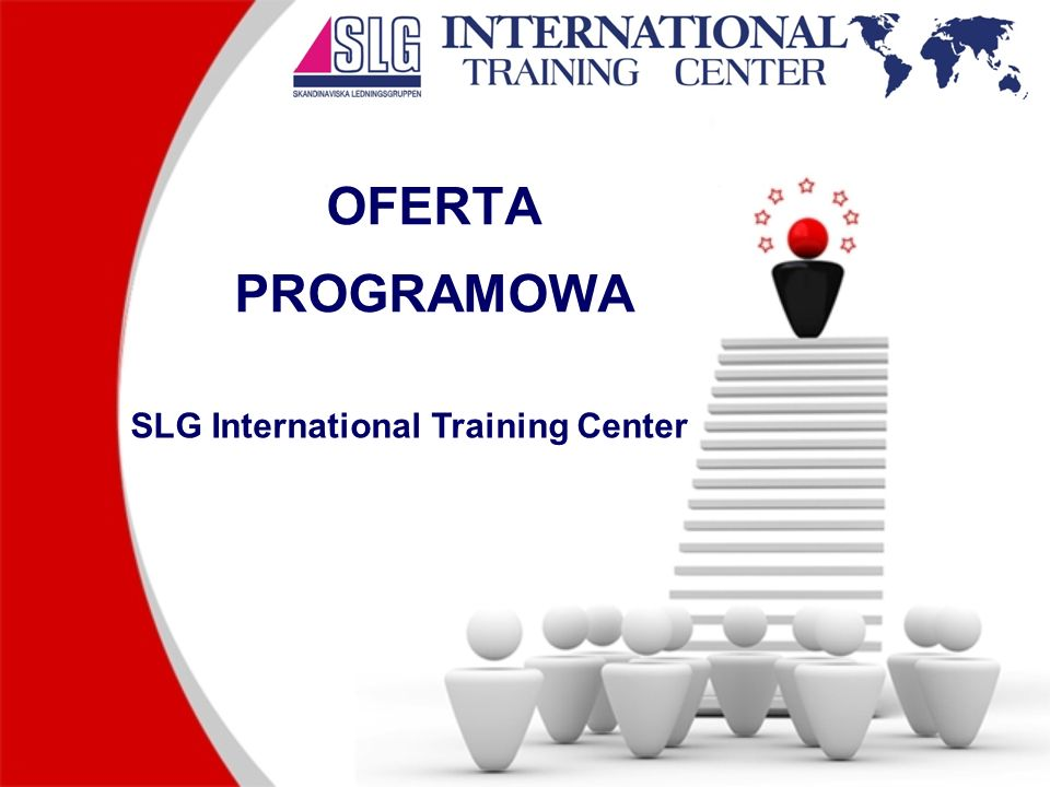 OFERTA PROGRAMOWA SLG International Training Center