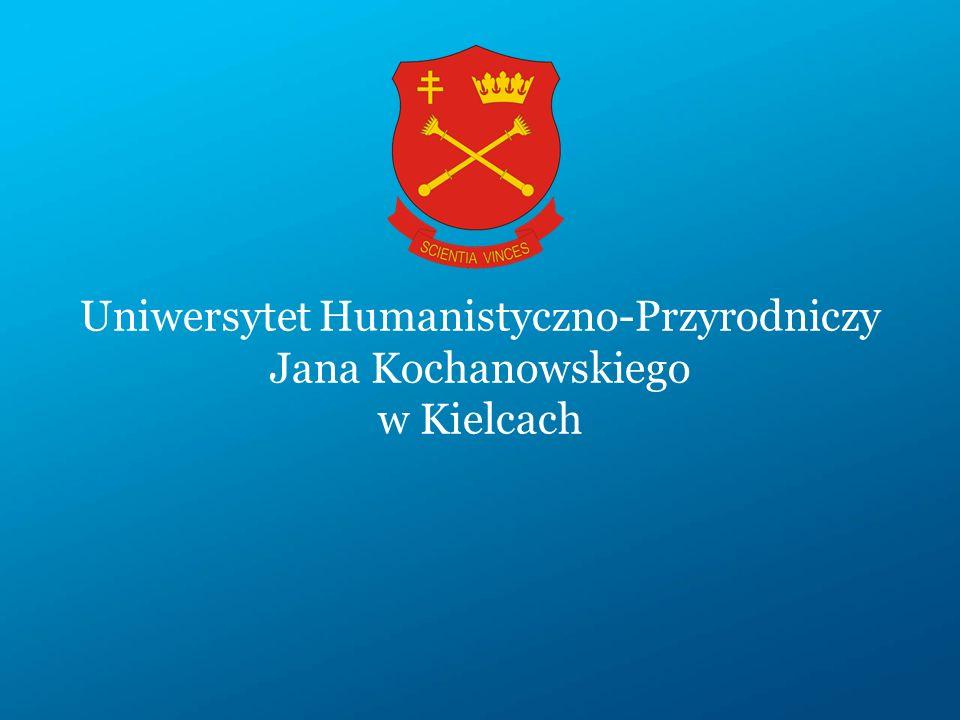 Uniwersytet Humanistyczno-Przyrodniczy Jana Kochanowskiego w Kielcach