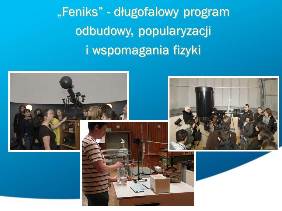 Feniks - długofalowy program odbudowy, popularyzacji i wspomagania fizyki