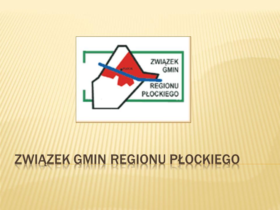 Związek Gmin Regionu Płockiego (ZGRP), skupia 16 gmin.