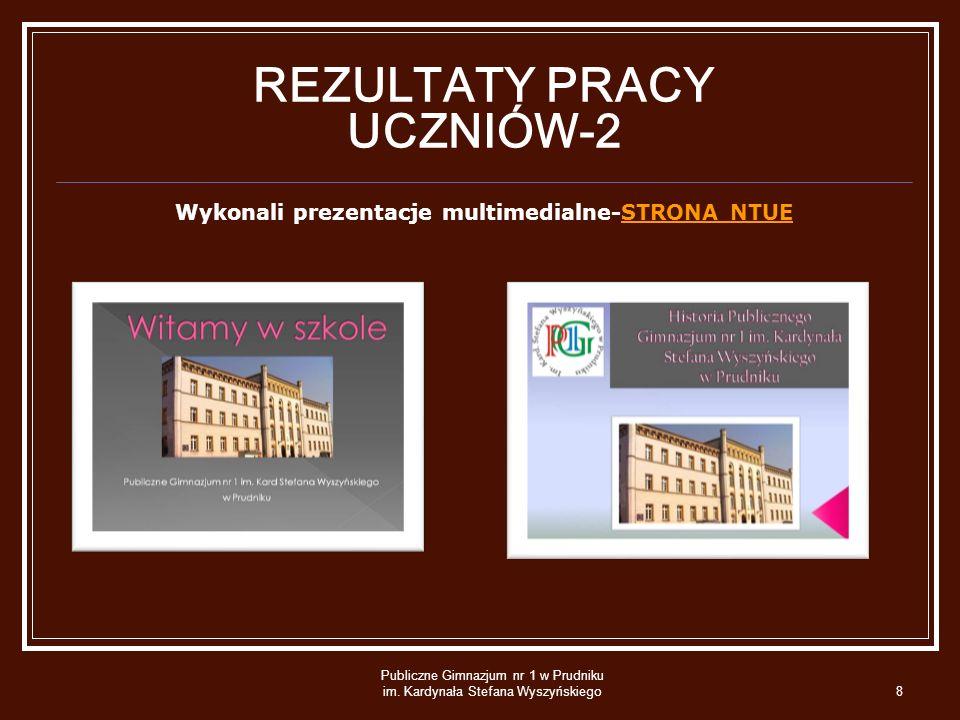 Publiczne Gimnazjum nr 1 w Prudniku im.