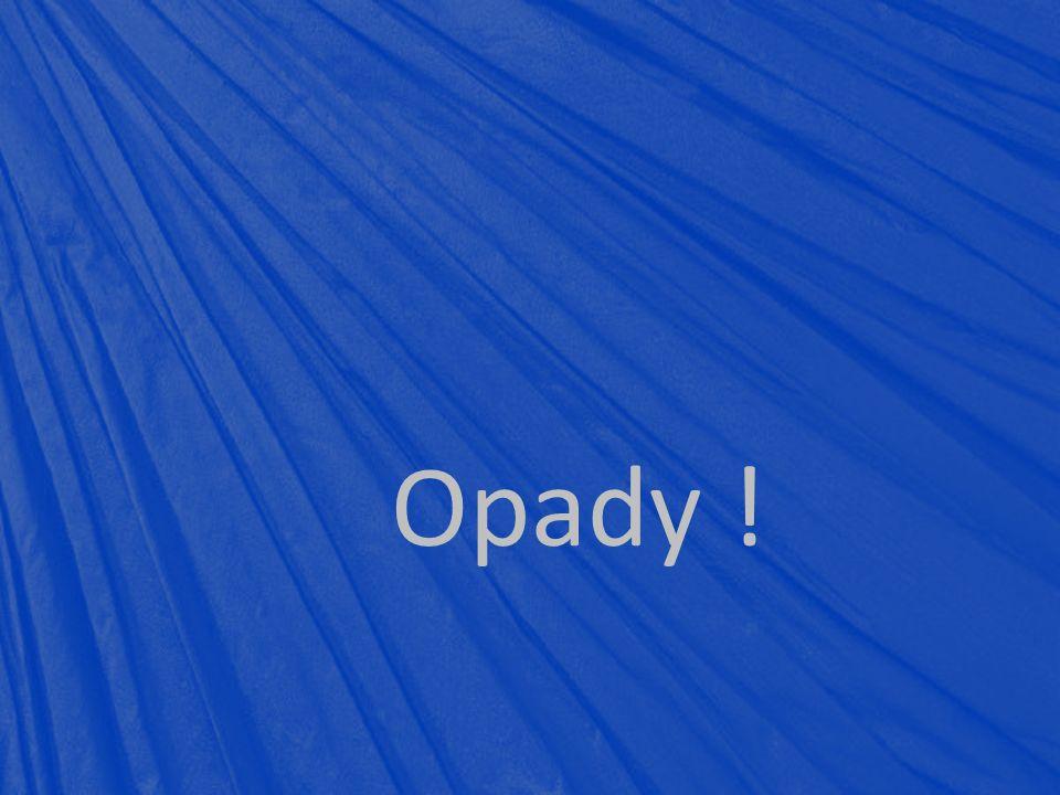 Opady !